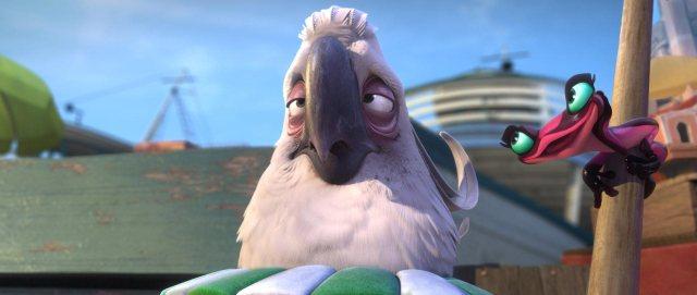 Nigel the Evil Cockatoo