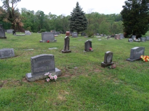 The cemetery where Marcellus Phillips came to rest.
