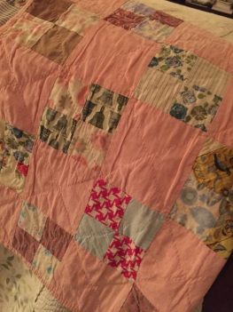 One of the baby quilts Grandma Jane made for my mother to use. I hope this one was mine!