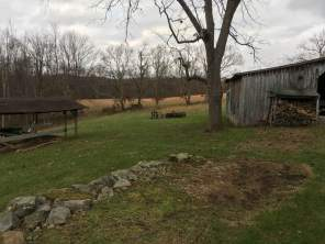 The farm on a chilly, November morning.