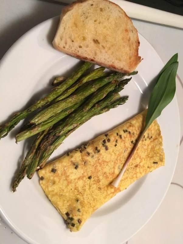 ramp omelette